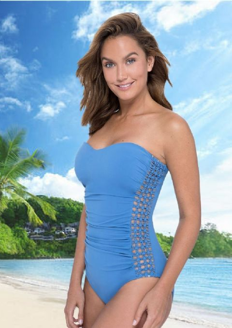 Gottex Profiles - Tutti fruity Swimsuit Royal (2)